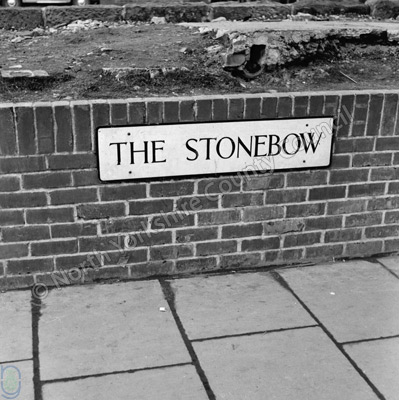 Stonebow, Sign, York
